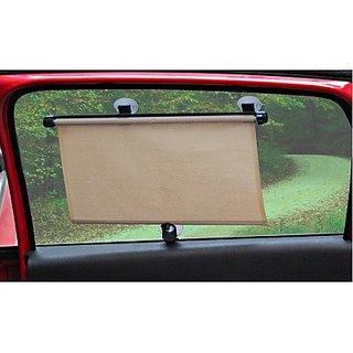 Buy Car Window Roller Curtain Beige Sun Shade For Maruti
