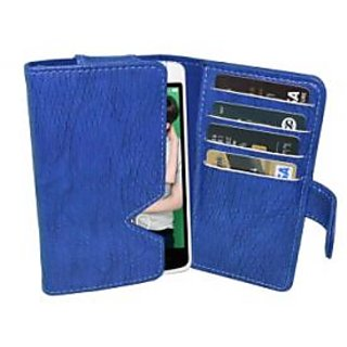 Totta Wallet Case Cover For Oppo R1 R829 (Blue)