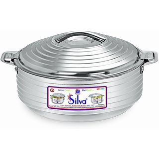 Silva Silver Line Hot Pot Cassorole 3500ML