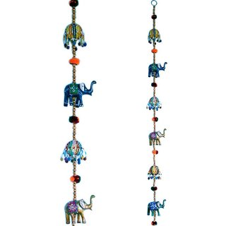 Bestunique  Rajasthani Elephant Door Hanging Handicraft