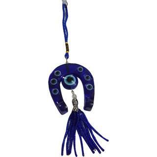 Choti Traders Feng Shui Evil Eye with Horse Shoe Hanging