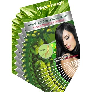 MaxxMagic Natural Hair Colour(10 Sachets) Maxx010