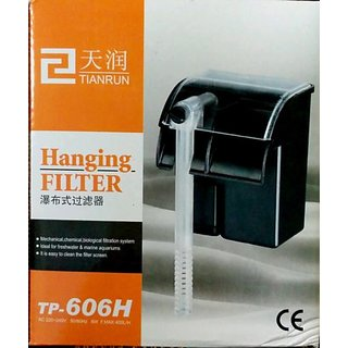 buy tianrun hang on filter for biological filtration tropical