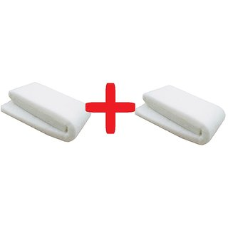 White Filter Sponge - High Quality Sponge - 6 feet Layer - Aquarium Tank filter