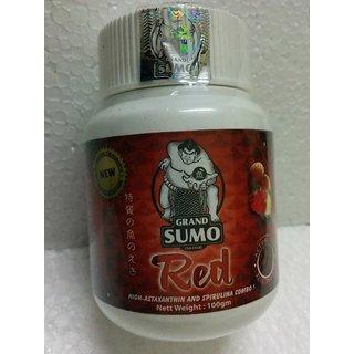 Original Grand Sumo Red Flowerhorn Aquarium Fish food 100g