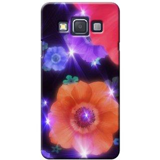 SaleDart Designer Mobile Back Cover for Samsung Galaxy A3 SGA3KAA497