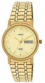 Timex Analog Gold Round Watch -A504