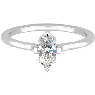 Exemplary Solitaire Ring