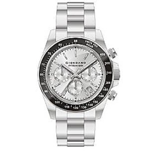 Giordano Quartz White Dial Mens Watch-P163-22