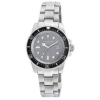 Giordano Quartz Grey Dial Mens Watch-P155-44