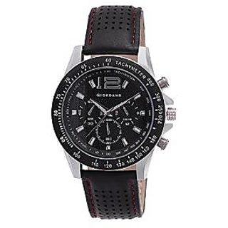 Giordano Quartz Black Dial Mens Watch-P9275