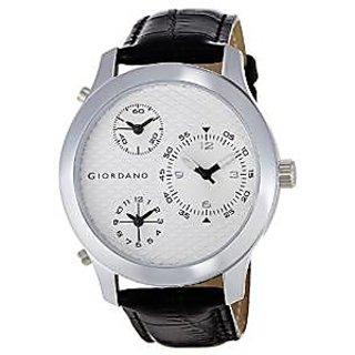 Giordano Quartz White Dial Mens Watch-60067