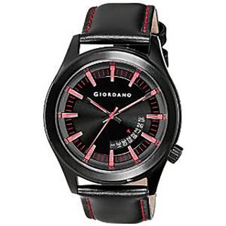 Giordano Quartz Black Dial Mens Watch-F1671-05