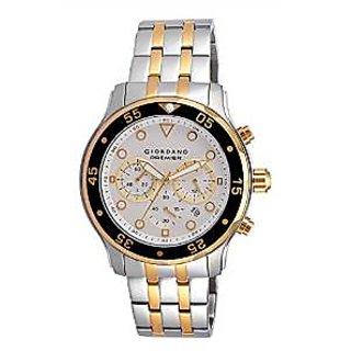 Giordano Quartz White Dial Mens Watch-P167-44