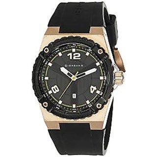 Giordano Quartz Black Dial Mens Watch-A1020-04