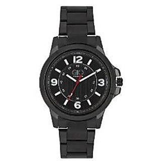 Giordano Quartz Black Dial Mens Watch-FG1004-11