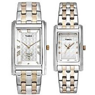 Timex Quartz Beige Dial Mens Watch-TW00PR205
