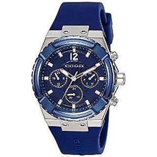 Giordano Quartz Blue Dial Mens Watch-1738-01