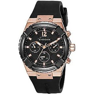 Giordano Quartz Black Dial Mens Watch-1738-03
