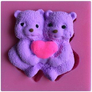 Futaba Bear Hug The Love Shape Silicone 3D Mold