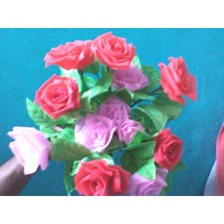 Decorative Handmade Peony Artificial Flower