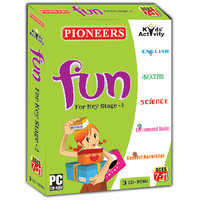 PIONEERS - FUN, For Key Stage - 2  Pack Of 3CDS  Age 7-11 Years  English  Environmental  General Knowledge  Scienc