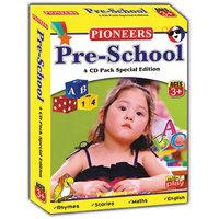 PIONEERS PRE-SCHOOL 4CD Pack Kids CD  Age 3+  Pre-school Essentials  Rhymes  Songs  Fabulous Moral Stories