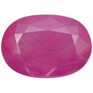 jaipur gemstone5.50 ratti ruby(manik),chunni.