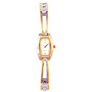 Timex Quartz White Dial Women Watch-OW02