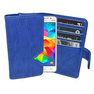 Totta Wallet Case Cover for Samsung Galaxy K Zoom (Blue) ACCE8H8FRVRHCFJG
