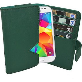 Totta Wallet Case Cover for Samsung Galaxy R I9103 (Green)