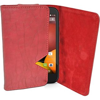 Totta Wallet Case Cover for Motorola Moto G (Red) ACCE8UH4BKY8ME5G