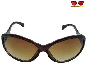 Polo House USA Womens Sunglasses Color-Brown-JulientW1104brown