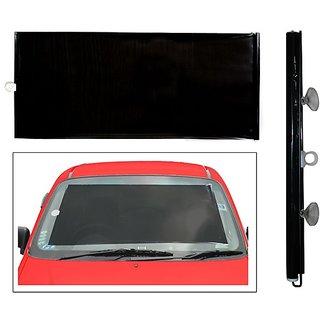 Car Front Window Horizontal Roller Sunshade Black Colour