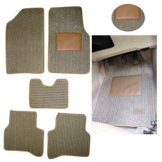 Takecare Car Floor Mat- Beige For Mahindra Scorpio New Generation 2014
