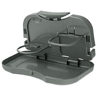 Takecare Car Meal Plate Drink Cup Holder Tray For Mahindra Xuv 500 Old 2010-2014