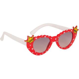 Stoln Girls Red  Cat-Eye Crown Sunglass-6104-22A73-02