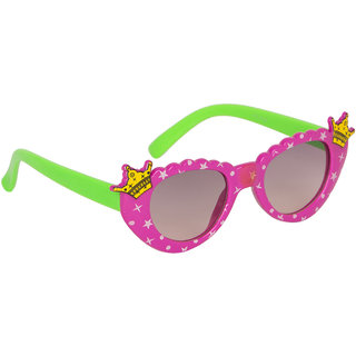 Stoln Girls Purple  Cat-Eye Crown Sunglass-6104-22A73-03