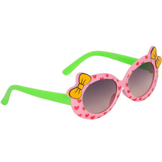 Stoln Girls Pink Bow Sunglass-6112-22A73-02
