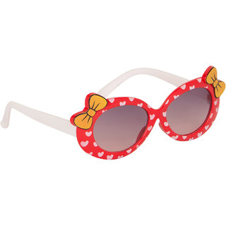 Stoln Girls Red Bow Sunglass-6112-22A73-03