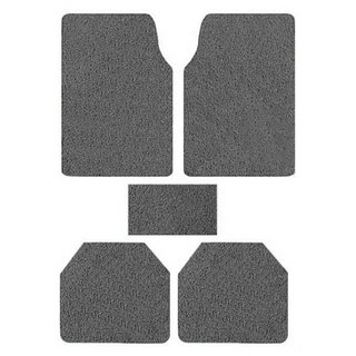 Takecare Gray Anti Slip Noodle Car Floor Mat For Mahindra Thar