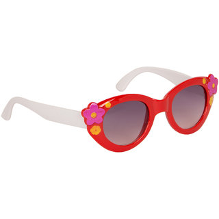 Stoln Girls Red Cat-Eye Sunglass-1205-2224-02