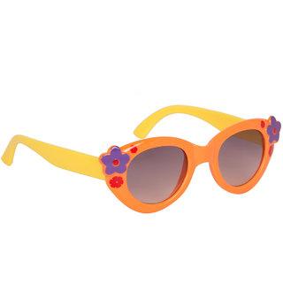 Stoln Girls Orange Cat-Eye Sunglass-1205-2224-05