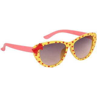 Stoln Girls Yellow Bow Sunglass-1209-2224-05