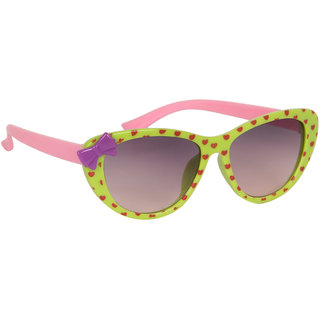 Stoln Girls Green Bow Sunglass-1209-2224-06