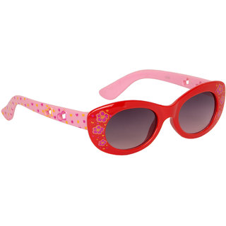 Stoln Girls Red Cat-Eye Sunglass-1219-01