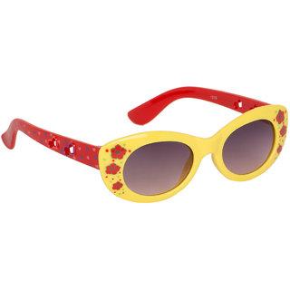 Stoln Girls Yellow Cat-Eye Sunglass-1219-05