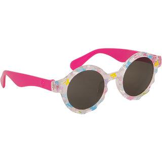 Stoln Girls Pink Round Sunglass-53-5-5147-04