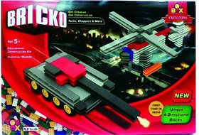 Toysbox Bricko - Tanks, Choppers