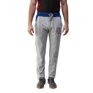Fitz Grey Regular Fit Mens Trackpant